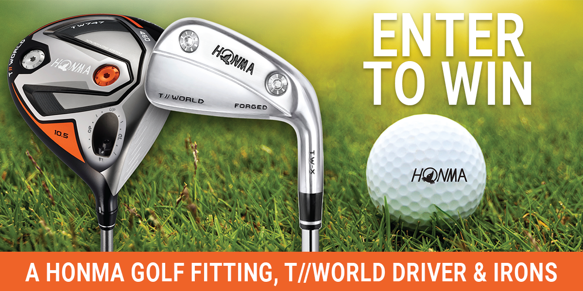 Win Honma Driver and Irons